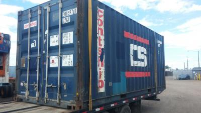 Shipping Container Delivery, without a Forklift
