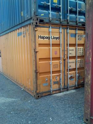 used shipping container