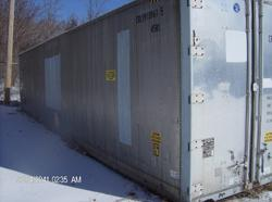 Reefer container - exterior
