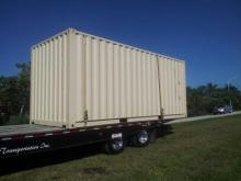 New 20' shipping container