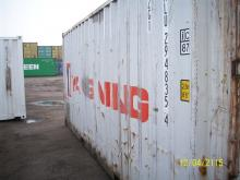 Yang Ming Shipping Container