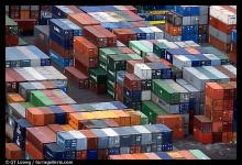 shipping container depot